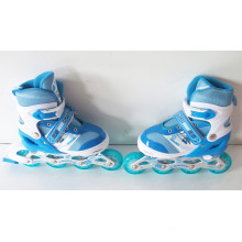 Kids Sport PU Wheels Blue Inline Skate