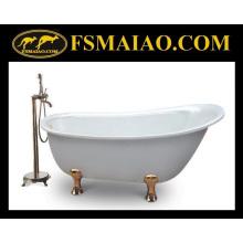 Bañera de pie clásica antigua de acrílico del baño del estilo (BA-8301B)