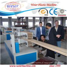 poste de cerca de madeira plástico composto wpc decking do linha de produção
