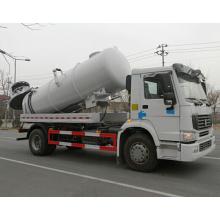 Caminhão de sucção de esgoto HOWO 4X2
