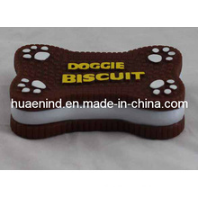Dog Vinyl Chew Cookies Toy, Pet Toy