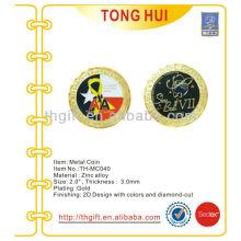 Gold Plating Metal Gedenkmünze, Souvenirmünze für Airforce / Army
