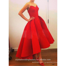 Alibaba Elegant Simple High Low New Designer Sweetheart Short in front long Evening Dresses Or Bridesmaid Dress LE19