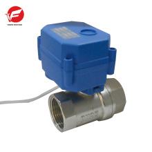 Válvula de control remoto inalámbrica de flujo de aire automático motorizado de 3 vías