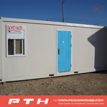 China Low Cost Container House for Prefabricated Building Project