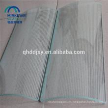 vidrio templado de impresión de seda curvada plana para vidrio de ventana de 4 mm a 19 mm