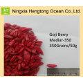 La baya de Goji te ayuda a perder peso - Bayas de Goji rojas secas