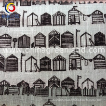 Cotton Lmitate Linen Printed for Children′s Fabric (GLLML187)