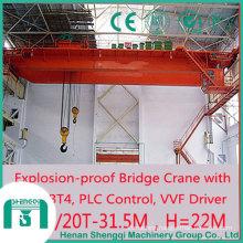 Applied in Hazardous Area Qb Explosion Proof Bridge Crane