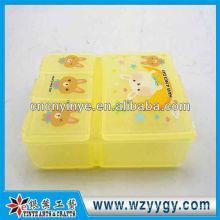 OEM en plastique petit portable pilulier, pilulier nouveau pour les enfants