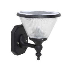 Solar Outdoor LED Wall-Mounted Landscape Fence Yard Lamps