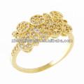 Fábrica Top Design Design de anéis de dedo de ouro para mulheres com preço