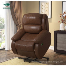 Electric Cinema Recliner Elderly Chair Lift Furniture Living Room Chair Genuine Leather Couches Sofa
