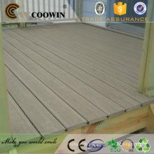 Wood grain outdoor wood plastic composite construction material