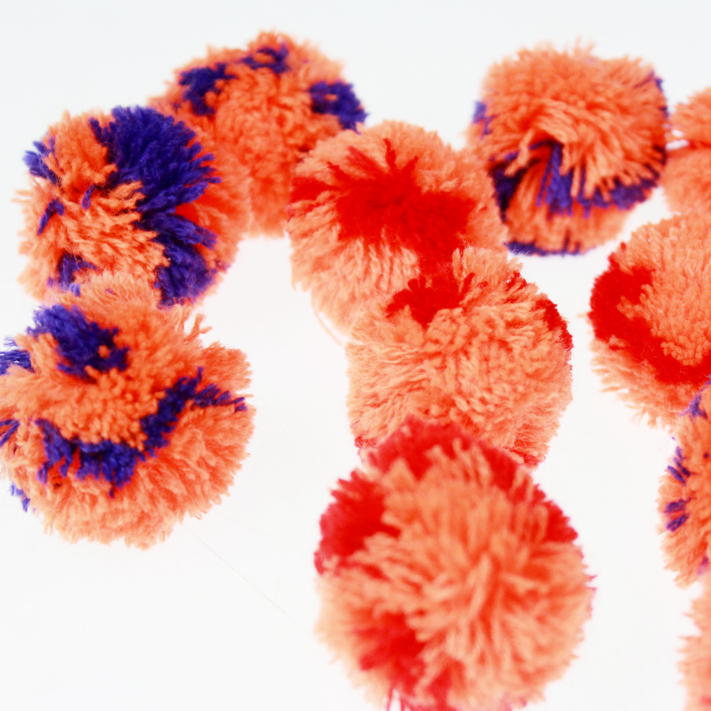Clothing accessories Pompom