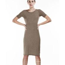 Grande vestido casual sem costura