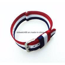 Custom Logo Nylon Cross Watch Bands for Naton Watch Replace