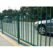 Clôture en treillis vert et clôture en treillis métallique en PVC