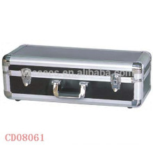 high quality 50 CD disks(10mm)aluminum CD DVD storage box wholesales