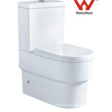 Banheiro de dois quartos Ceramic Watermark Toilet (562)