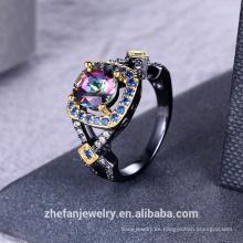 Anillo de joyería de las mujeres anillo de fabricación al por mayor de joyería de China