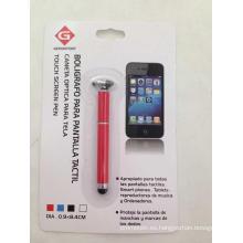 Bolígrafo metálico con pantalla táctil para promoción (OI02532)