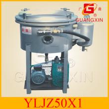 Peant Oil Filter Machine Cooking Oil Vacuum Filter (YLJZ 50-1/2)