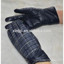 guantes de cuero de invierno