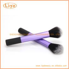 Maquillage violet sur mesure poudre pinceau Manufactuer