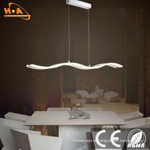 Luz decorativa moderna do candelabro do pendente da lâmpada do diodo emissor de luz