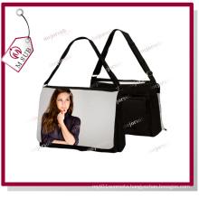Middle Size Sublimation Canvas Shoulder Bag with Custom Design