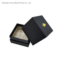 Eco Friendly Luxury White/Black Rigid Gift Candle Box Packaging with Custom Printed Logo