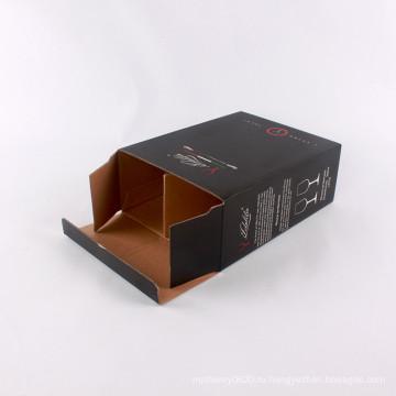 Высокое качество упаковки печатной площади коробки для вина стеклянная упаковка