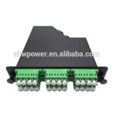 24 core rack-mount fiber optic distribution box with MPO patch cord