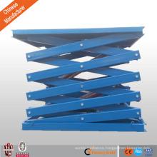 hydraulic scissor lift table/car scissor lift