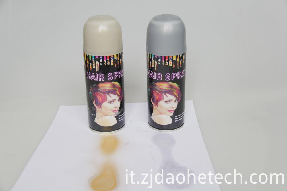Silver Paint Spray For Hair