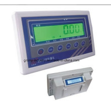 Indicador de pesaje electrónico de doble pantalla Xk3119-MD