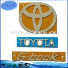 OEM Die Cutting Car Logo foam sticker tape plate sticker