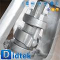 Didtek Válvula de compuerta soldada de 3 '' 1500LB de calidad superior con manivela