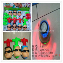 Hot Selling Flashing Plastic Spinning Top Toy
