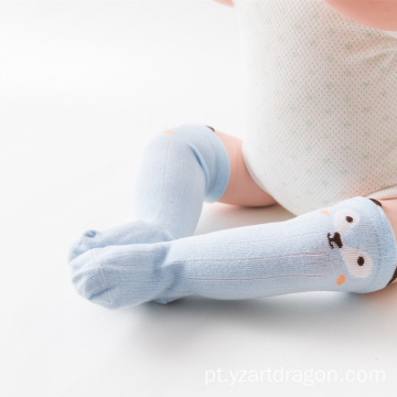 High Quality Cute Cartoon Anti-slip Soft Baby Girl Boy Knee High Baby Socks