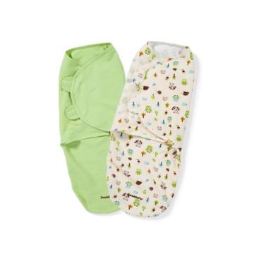 Bambu lindo bebê swaddle cobertor swaddle infantil ajustável