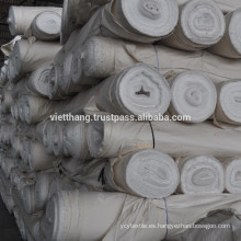 Tejido gris - 100% algodón cardado / 108 * 58 CD20 * CD16