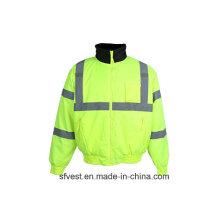 Высокая видимость Водонепроницаемая защитная куртка с отражающей лентой 3 м