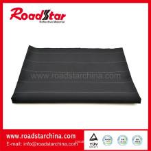 Robuste schwarze reflektierende Polyester Garn gefärbtes Gewebe