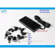 Ultra Slim Universal 90W ac power adapter laptop adapter