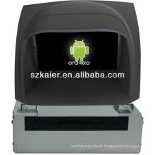 Multimédia central de voiture système Android pour Ford Fiesta avec GPS / Bluetooth / TV / 3G