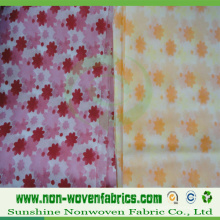 Tissu imprimé de Spunbond Polypropylene Nonwovens