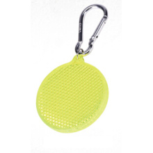 Bright high visibility safety round shape hanger