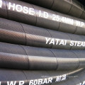 One Ply Steel Wire Braided Reinforced Wrapper Cover EPDM Steam Rubber Hose
